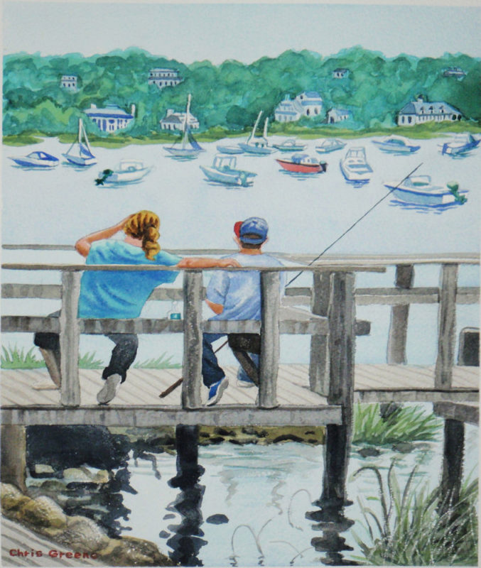 Fishing Cold Spring Harbor