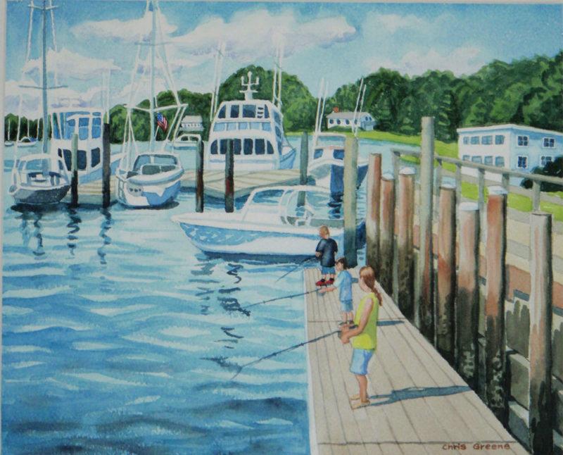 Fishing Huntington Harbor