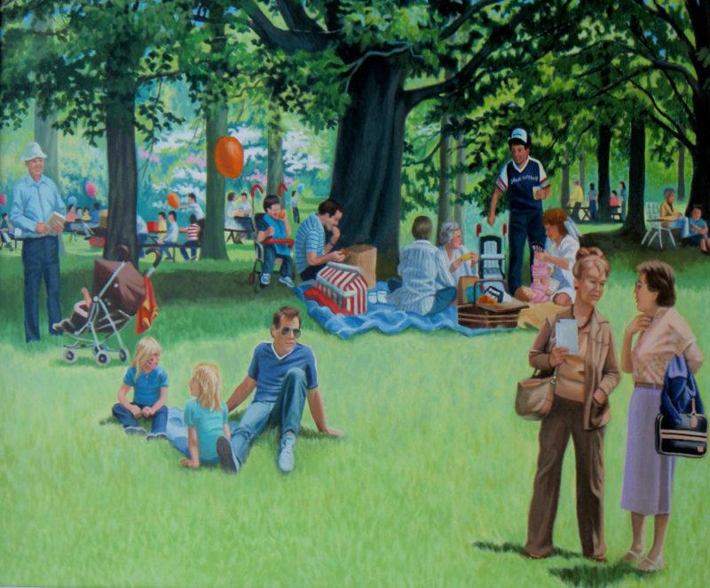 Picnic at Westbury Gardens