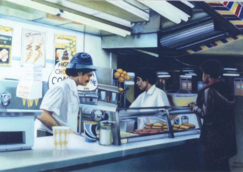 Subway Snack Bar