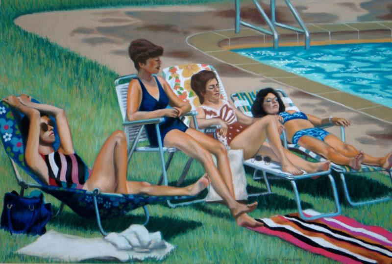 Sunbathers